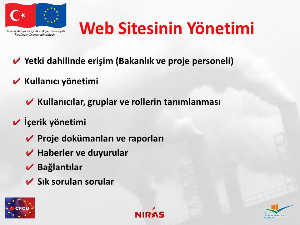 Web Sitesinin Yönetimi