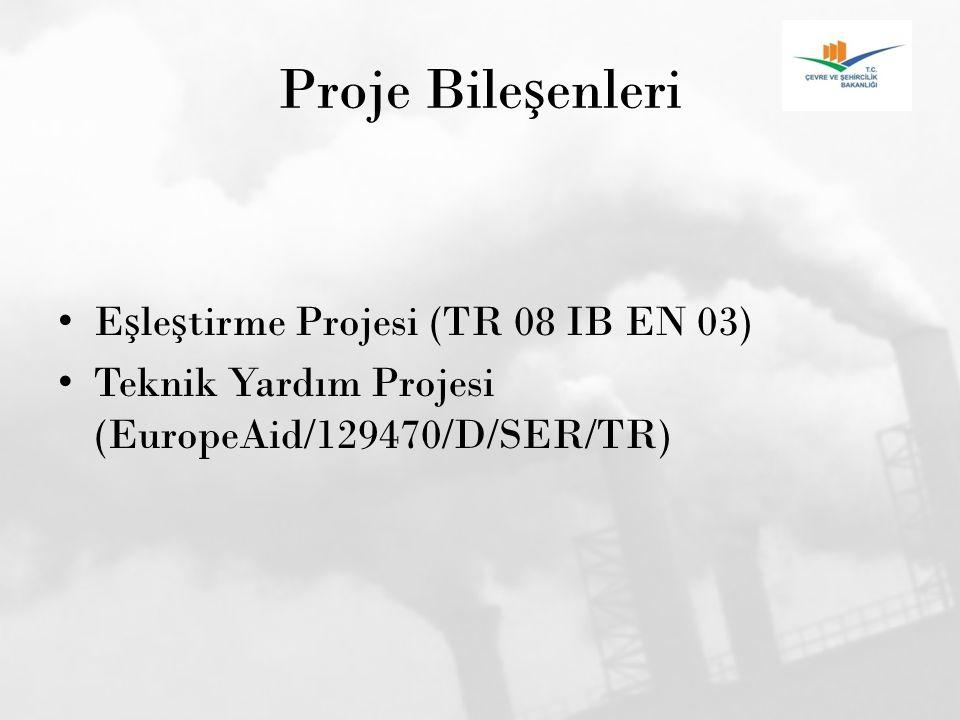 Proje Bileşenleri Eşleştirme Projesi (TR 08 IB EN 03)