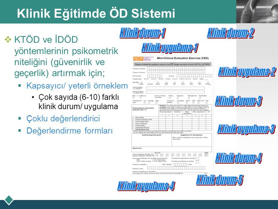 Klinik Eğitimde ÖD Sistemi
