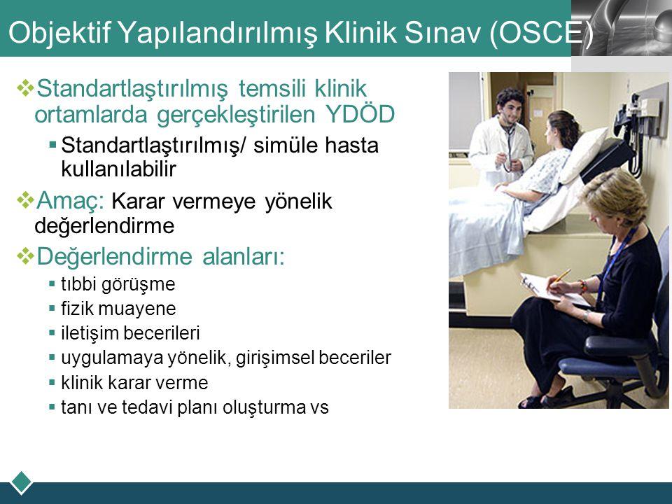 Objektif Yapılandırılmış Klinik Sınav (OSCE)