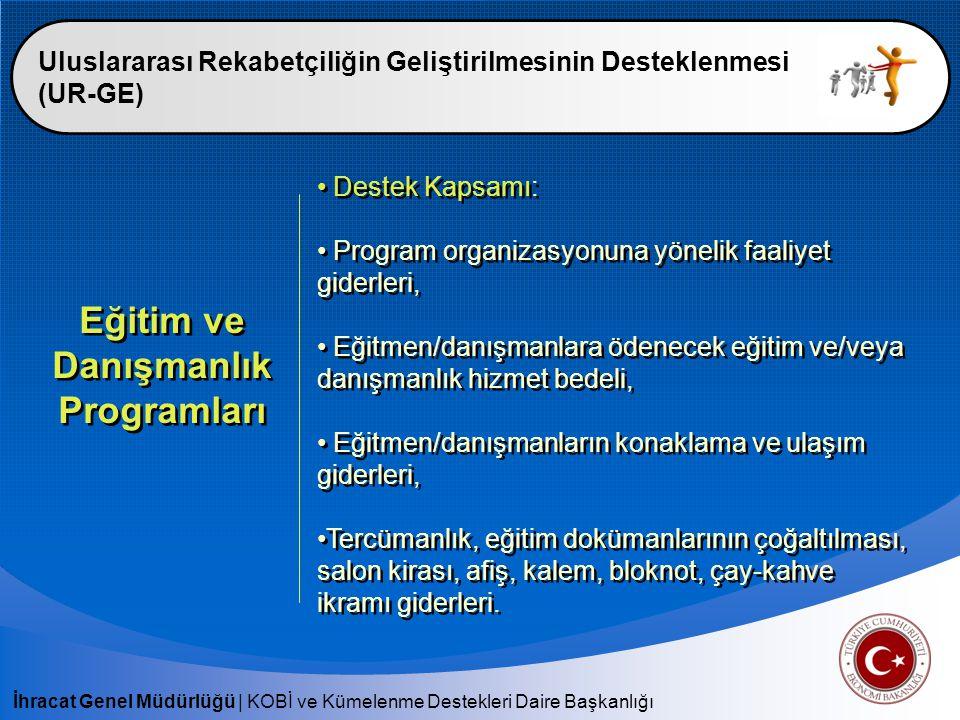 Eğitim ve Danışmanlık Programları
