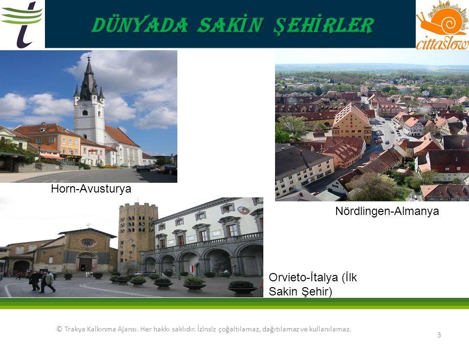 DÜNYADA SAKİN ŞEHİRLER Horn-Avusturya Nördlingen-Almanya