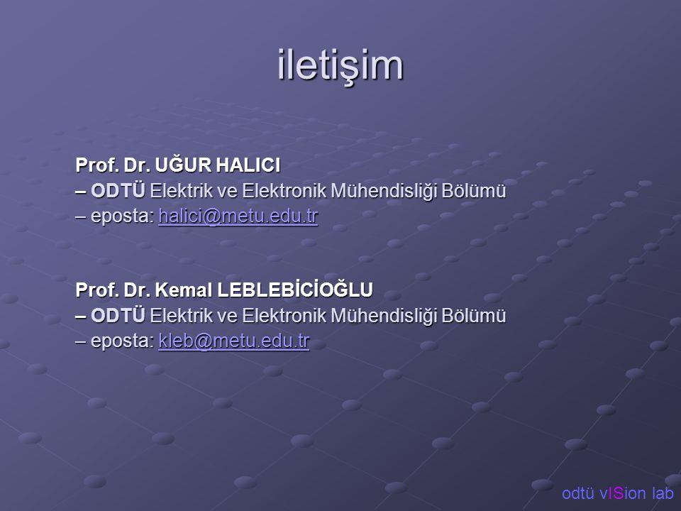 iletişim Prof. Dr. UĞUR HALICI
