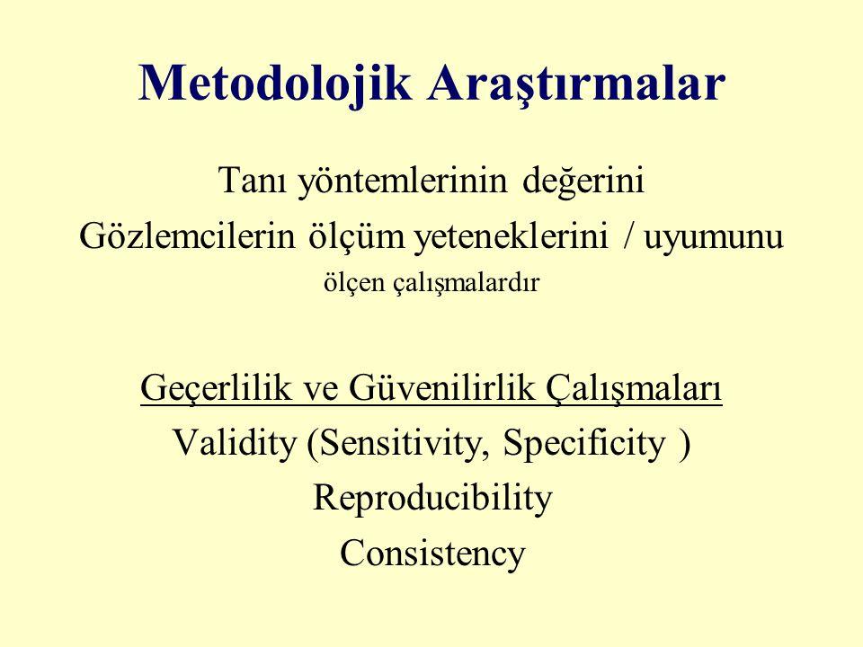 Metodolojik Araştırmalar
