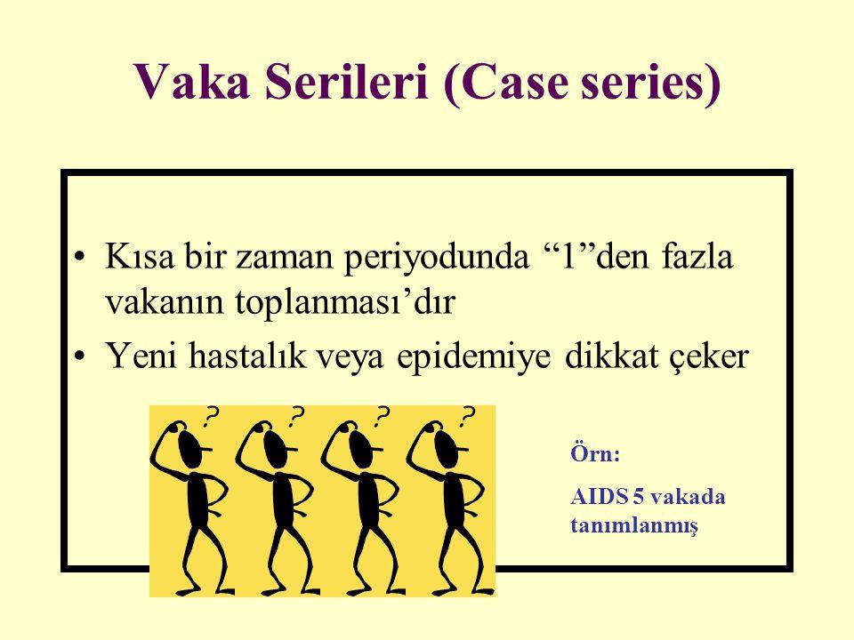 Vaka Serileri (Case series)