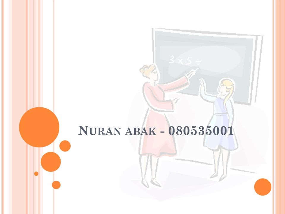 Nuran abak - 080535001
