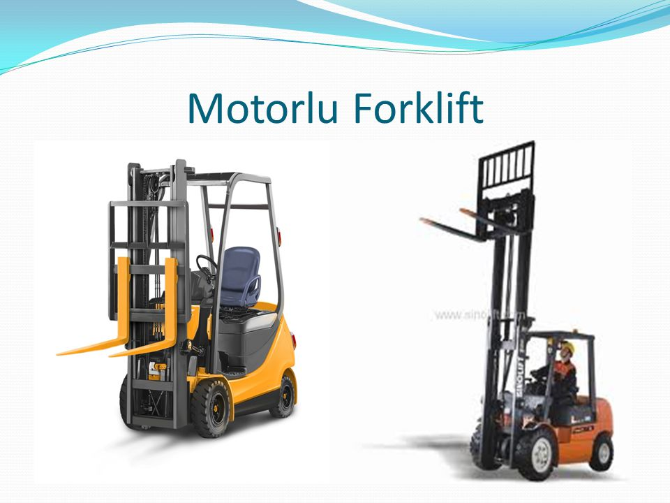 Motorlu Forklift