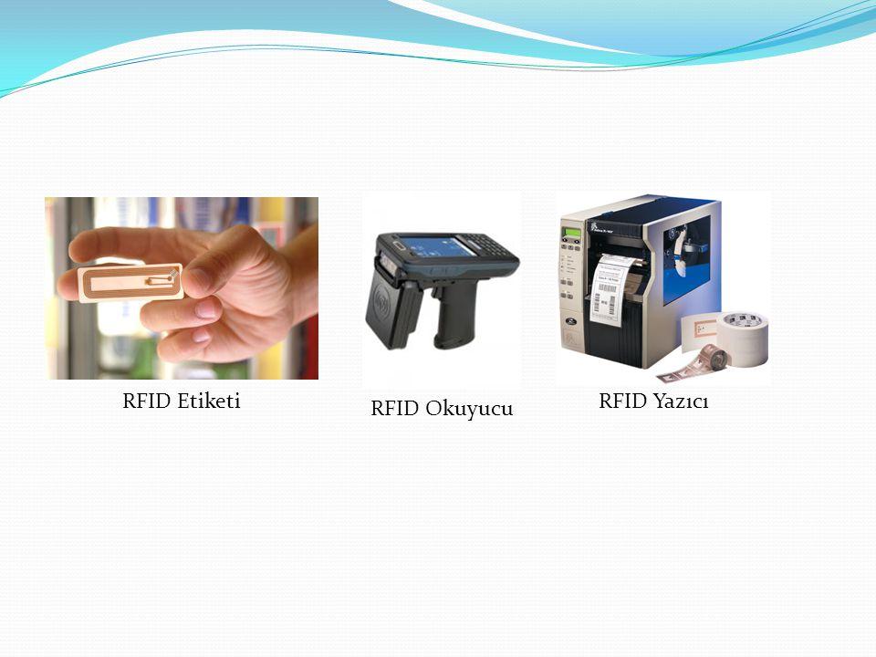 RFID Etiketi RFID Yazıcı RFID Okuyucu