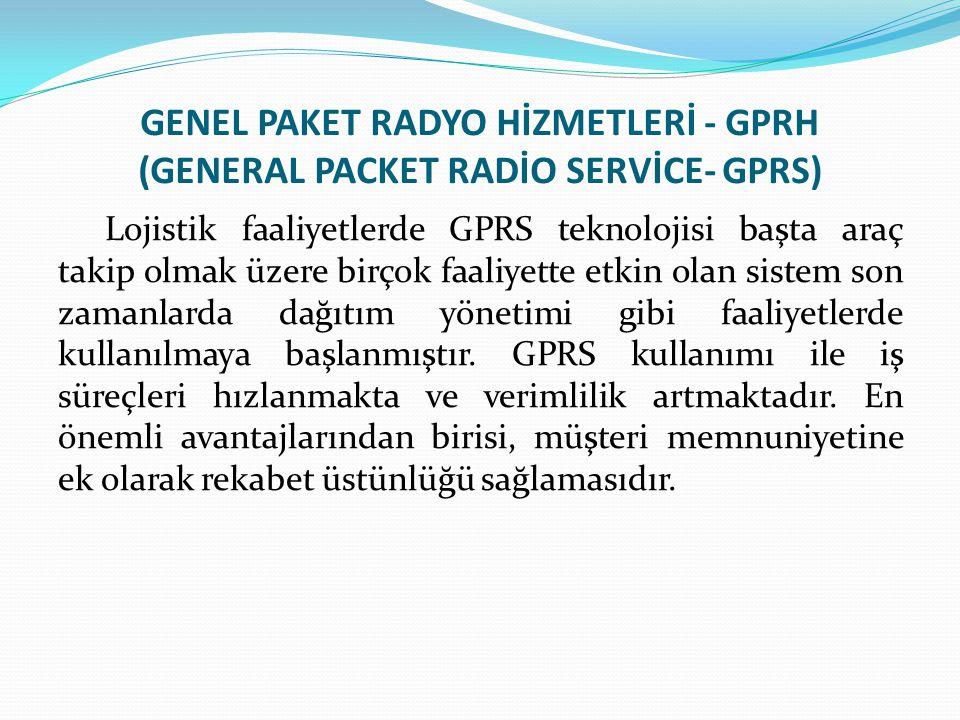 GENEL PAKET RADYO HİZMETLERİ - GPRH (GENERAL PACKET RADİO SERVİCE- GPRS)