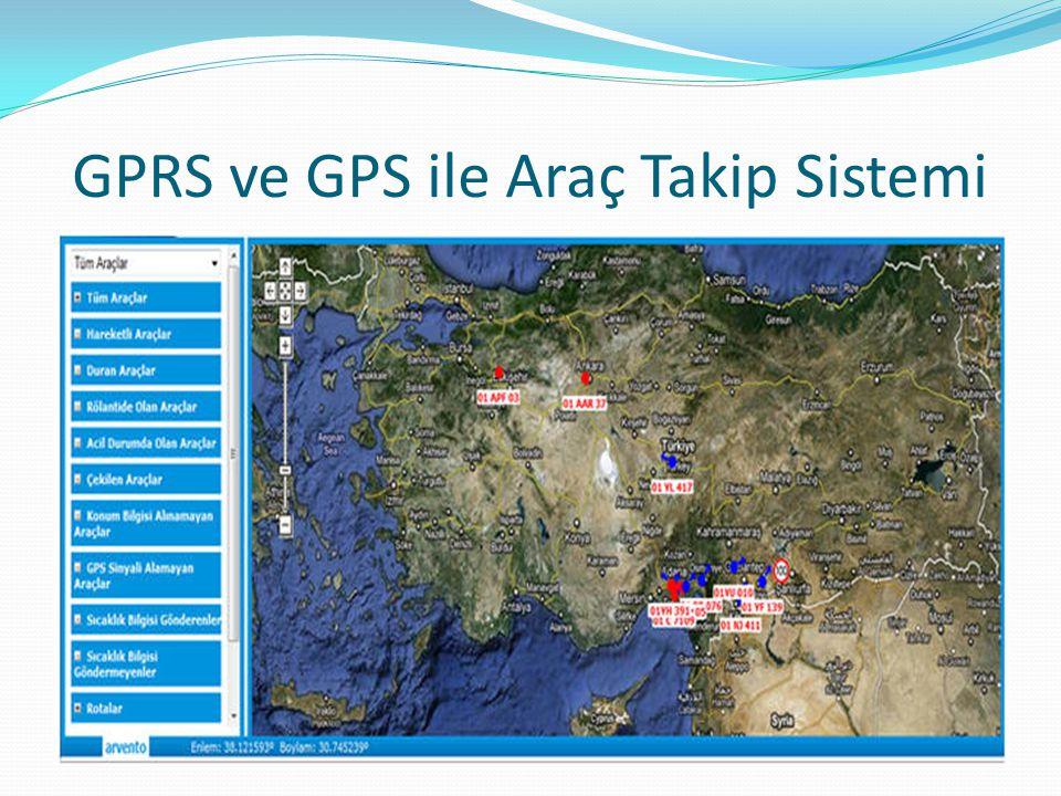 GPRS ve GPS ile Araç Takip Sistemi