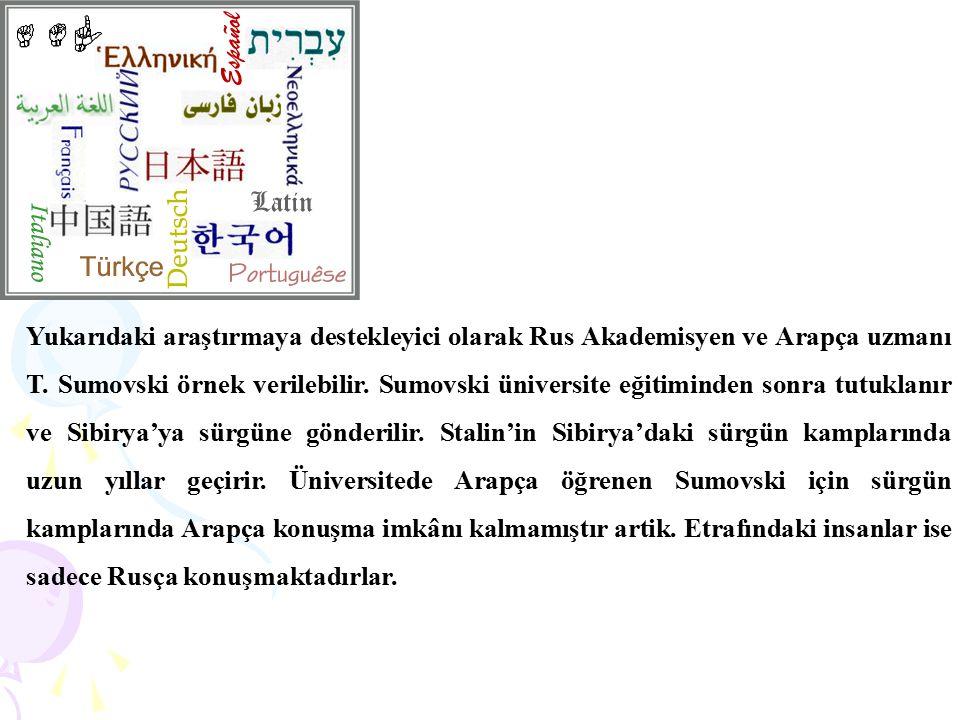 Yukarıdaki araştırmaya destekleyici olarak Rus Akademisyen ve Arapça uzmanı T.