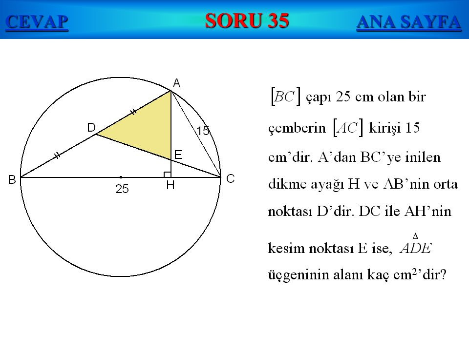 CEVAP SORU 35 ANA SAYFA