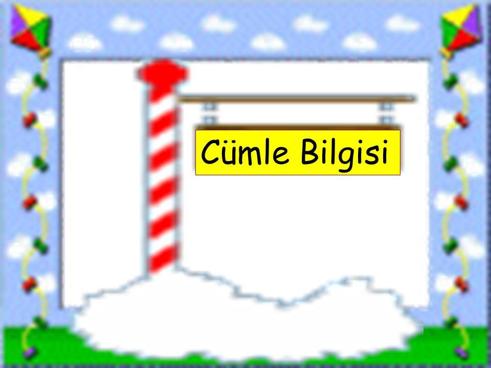 Cümle Bilgisi www.sorubak.com