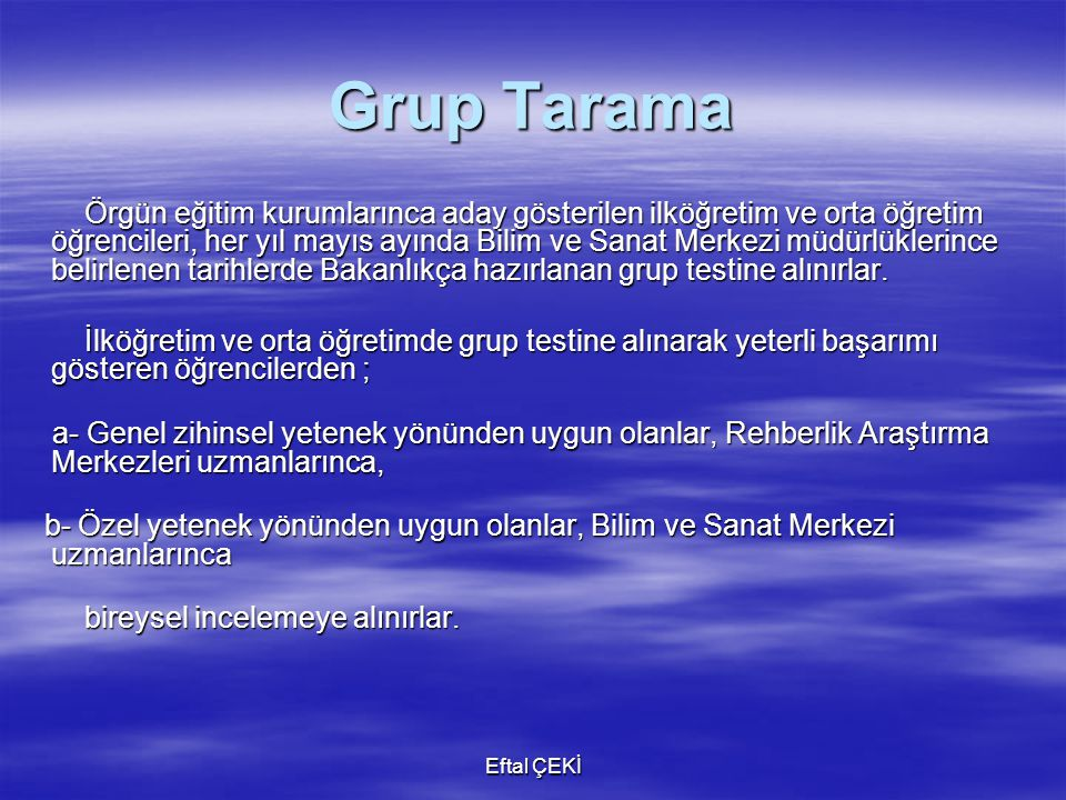 Grup Tarama