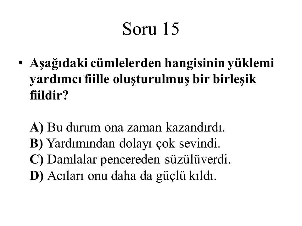 Soru 15