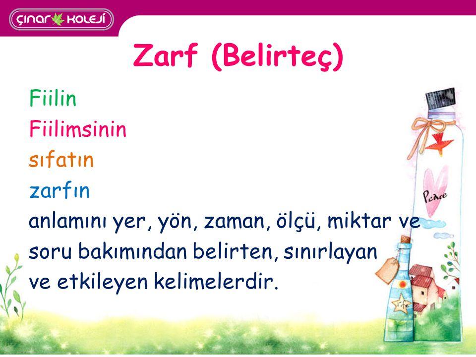 Zarf (Belirteç)