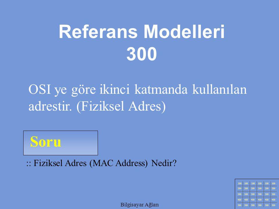 Referans Modelleri 300 Soru