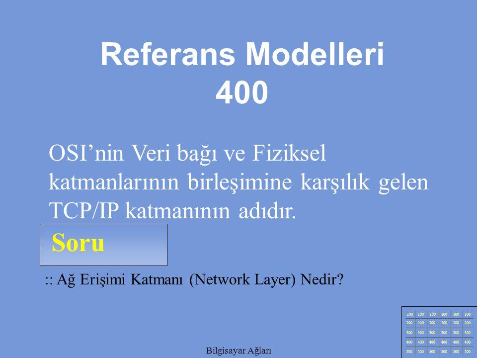 Referans Modelleri 400 Soru