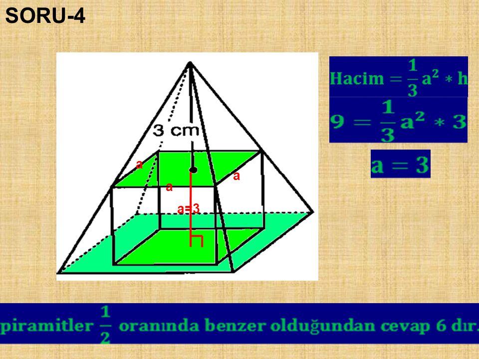 SORU-4 a a a a=3