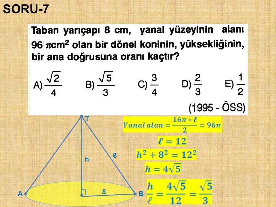 SORU-7 T ℓ h 8 A B