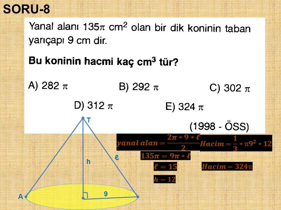 SORU-8 T ℓ h 9 A