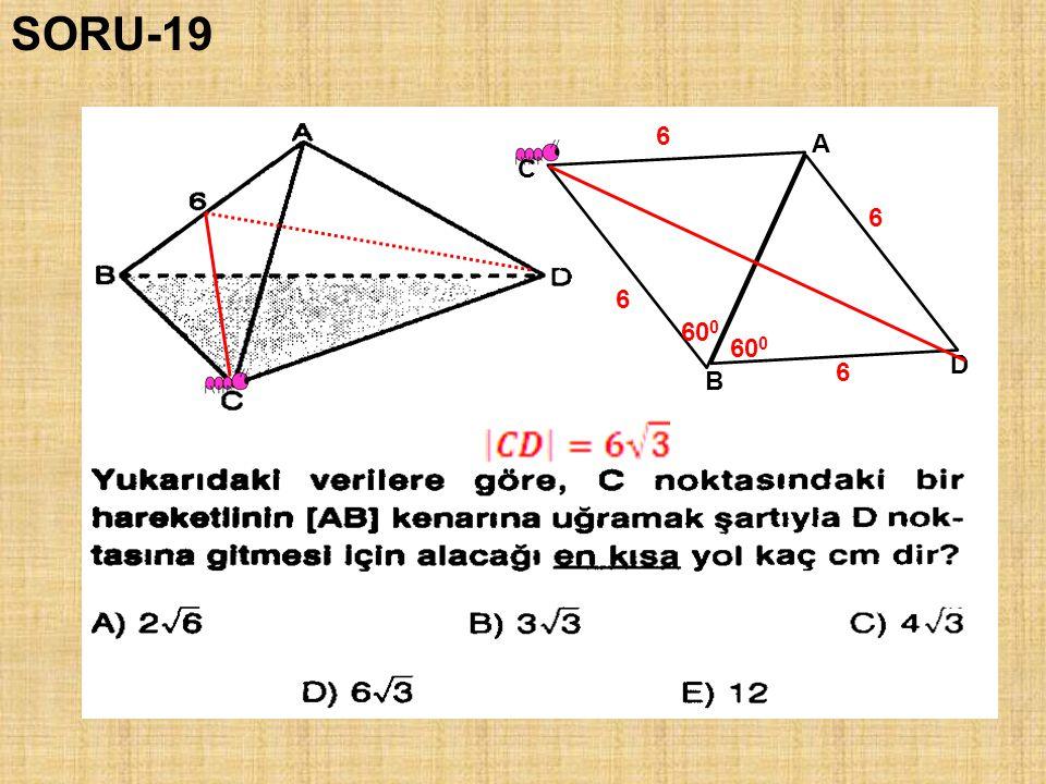 SORU-19 6 A C 6 6 600 600 D 6 B