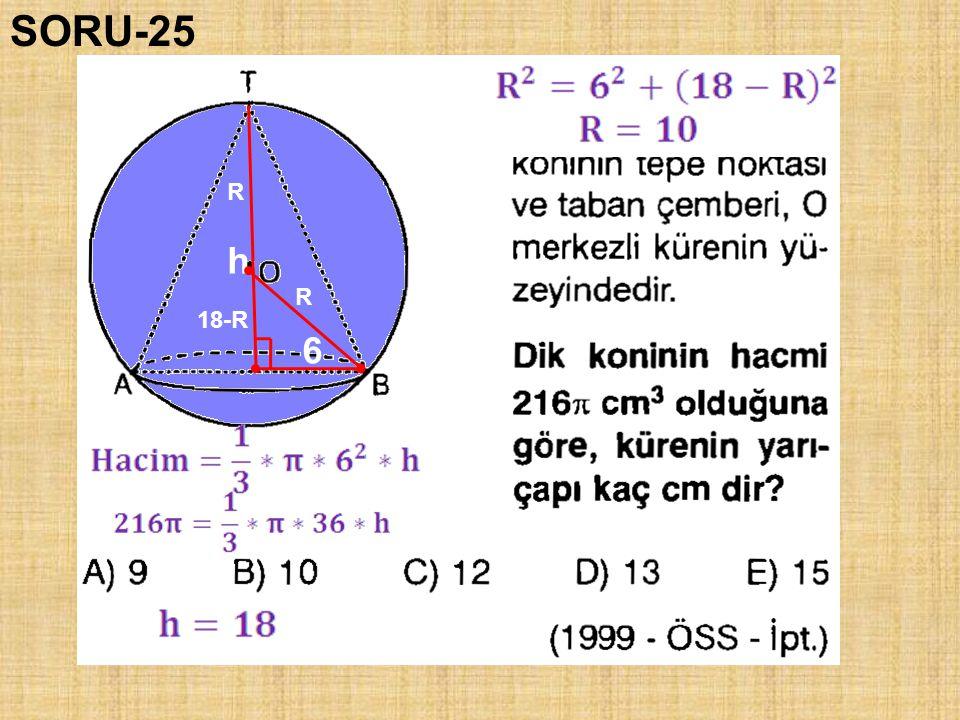 SORU-25 R h R 18-R 6