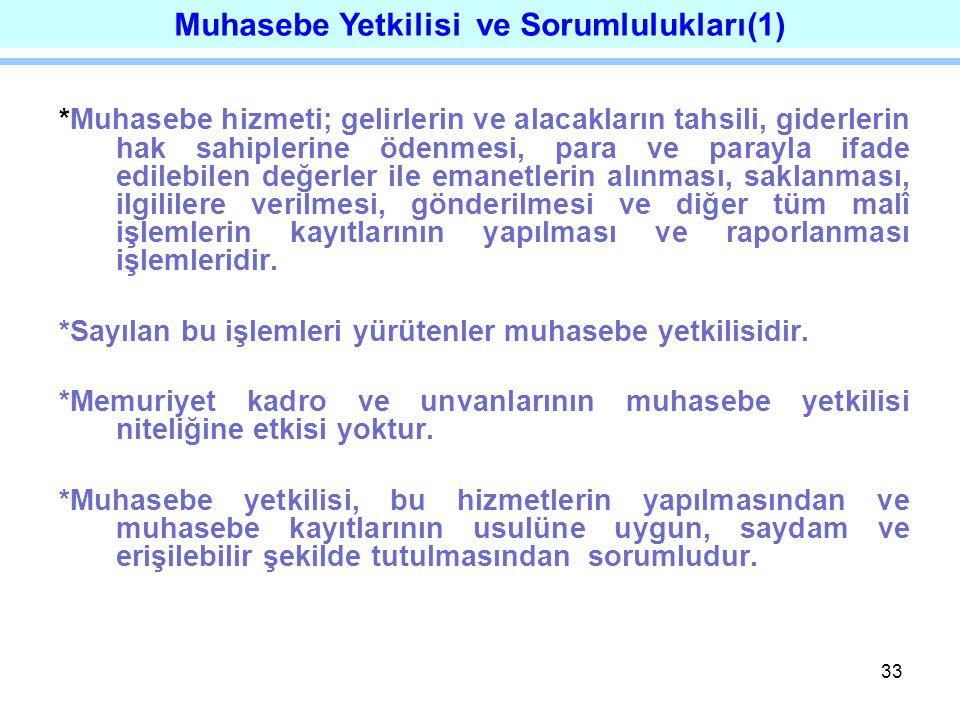 Muhasebe Yetkilisi ve Sorumlulukları(1)