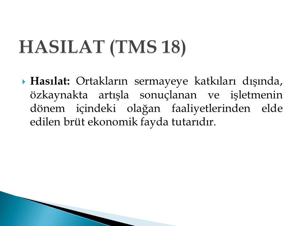 HASILAT (TMS 18)