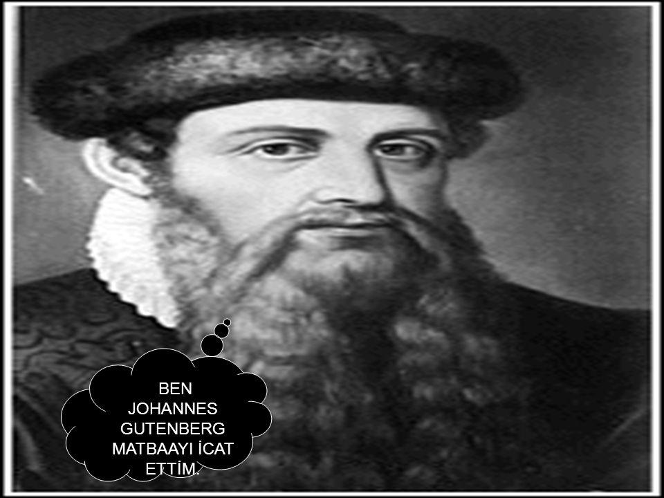 BEN JOHANNES GUTENBERG