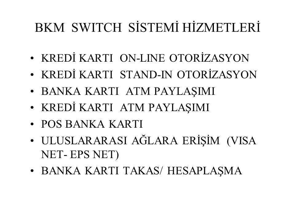 BKM SWITCH SİSTEMİ HİZMETLERİ