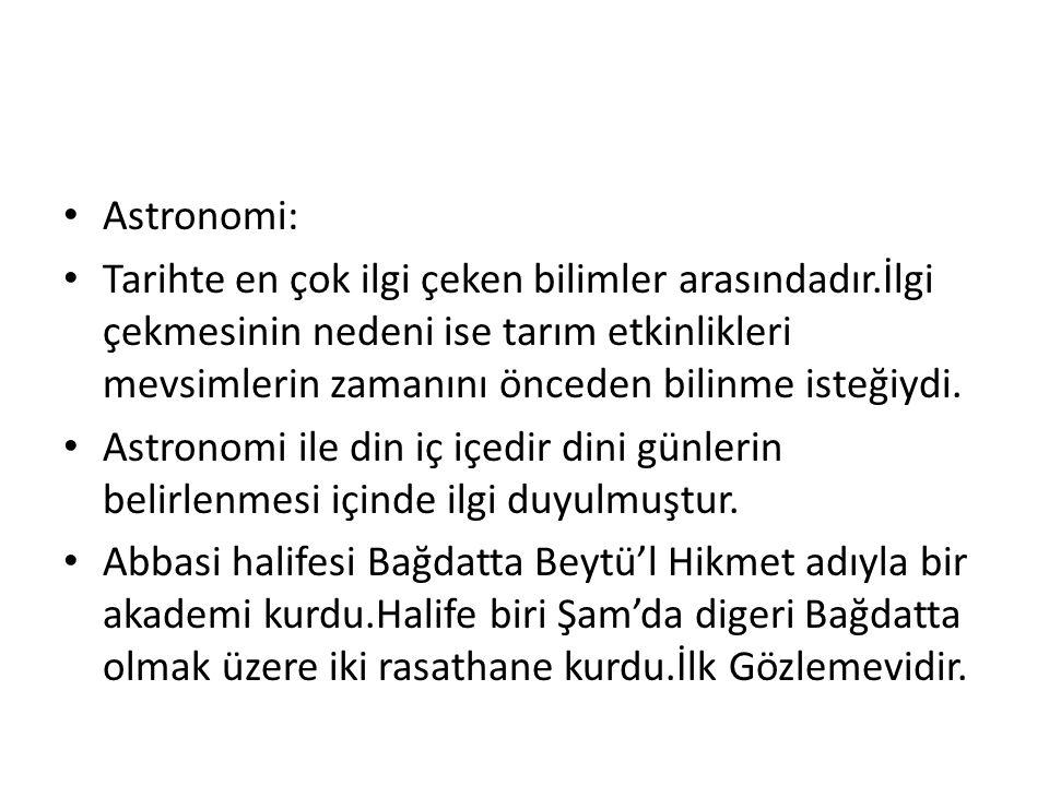 Astronomi: