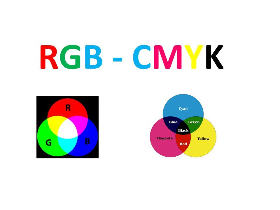 RGB - CMYK