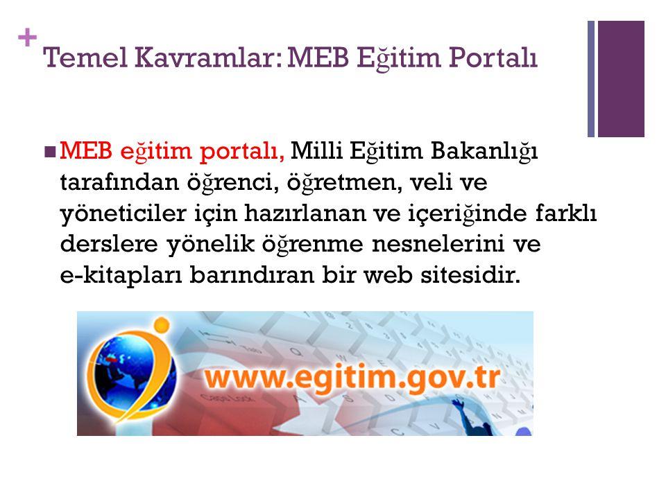 Temel Kavramlar: MEB Eğitim Portalı