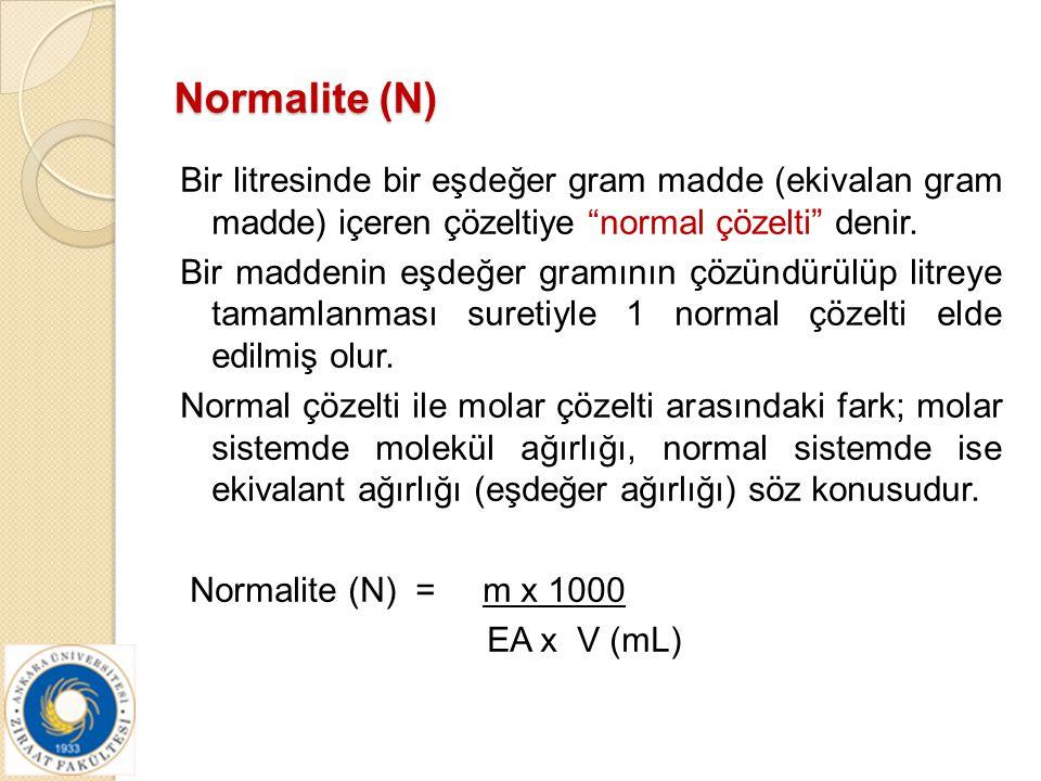 Normalite (N)