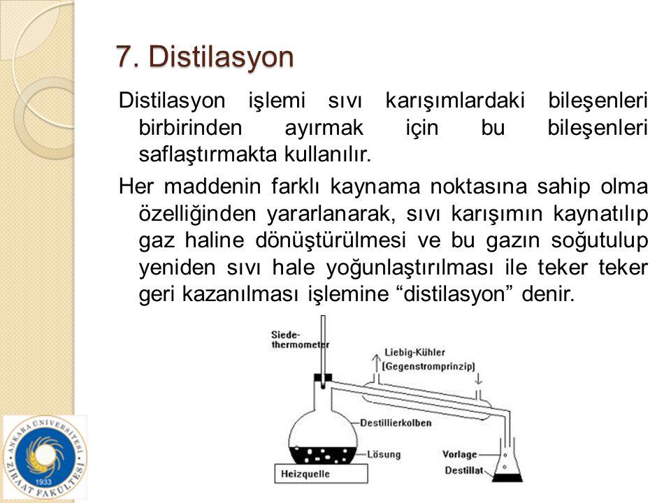 7. Distilasyon
