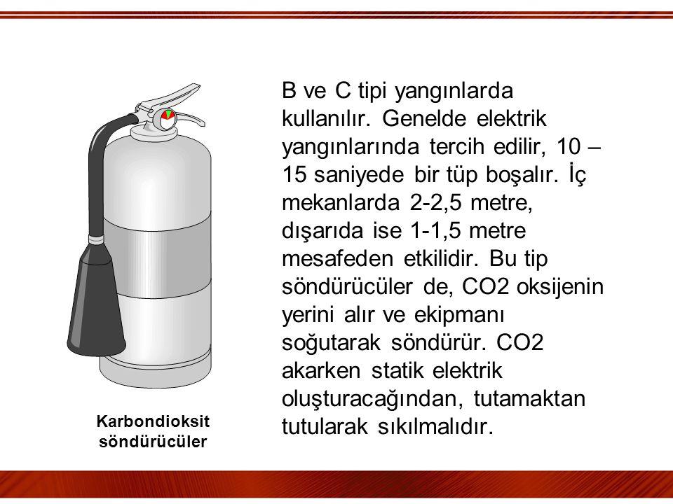 Karbondioksit söndürücüler