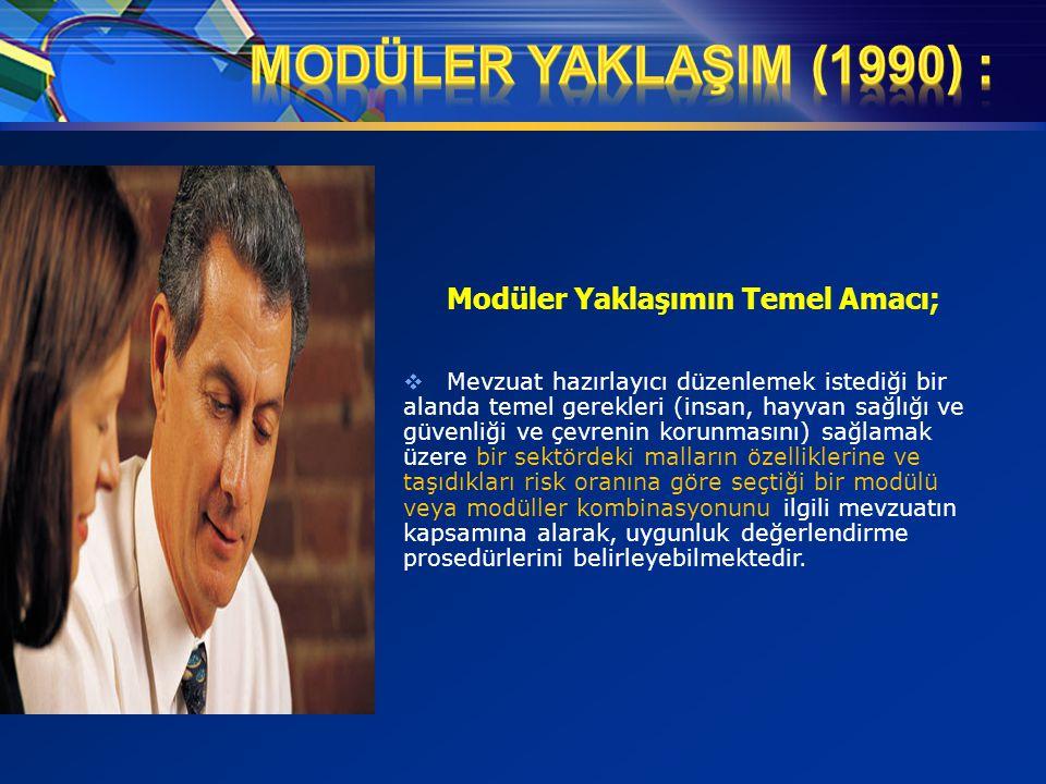 MODÜLER YAKLAŞIM (1990) : Modüler Yaklaşımın Temel Amacı;