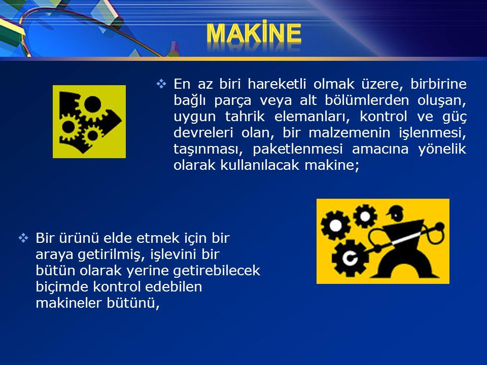 MAKİNE