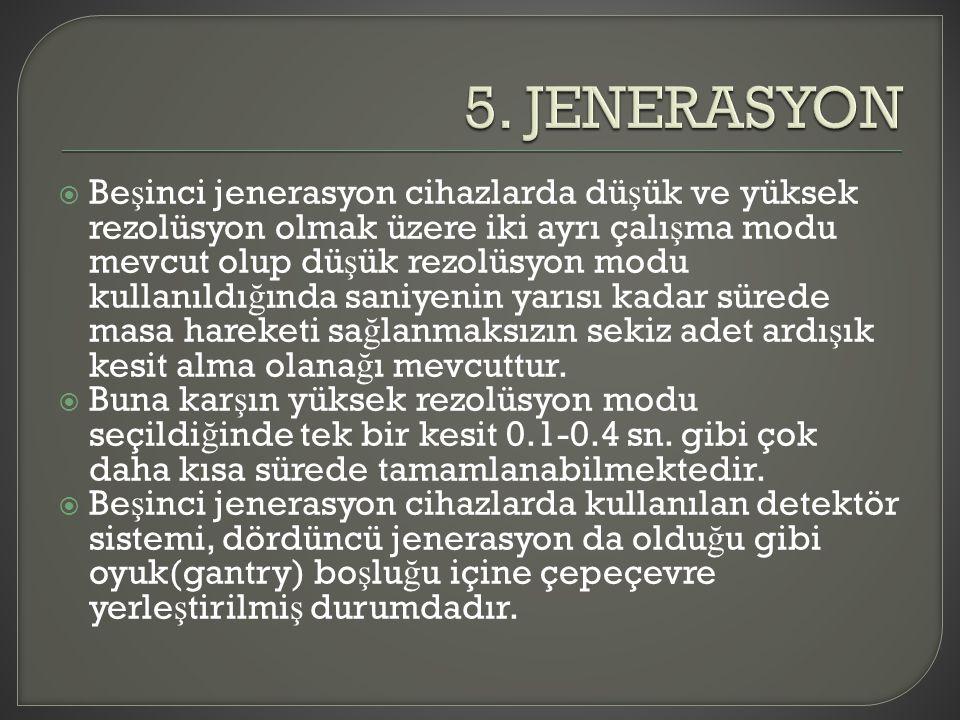 5. JENERASYON