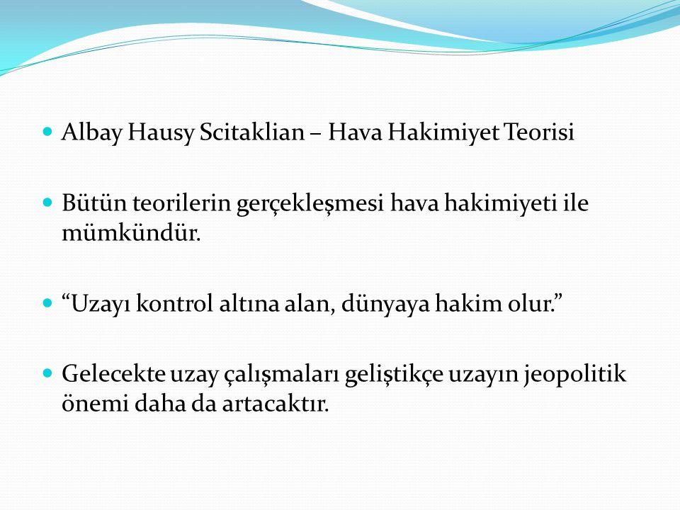 . Albay Hausy Scitaklian – Hava Hakimiyet Teorisi
