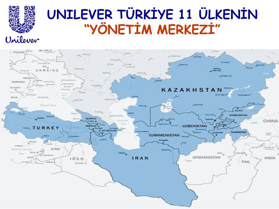 UNILEVER TÜRKİYE 11 ÜLKENİN