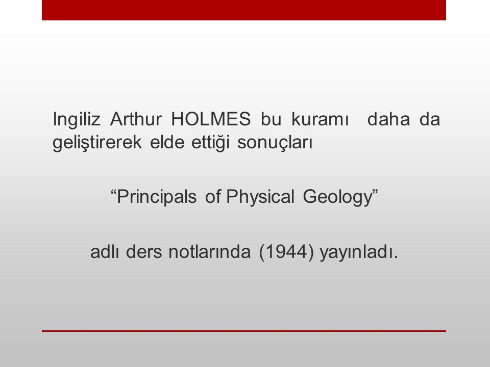 Principals of Physical Geology