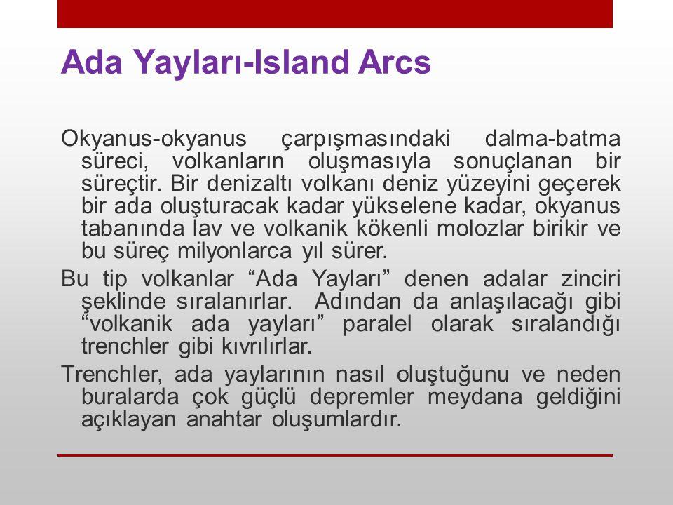 Ada Yayları-Island Arcs