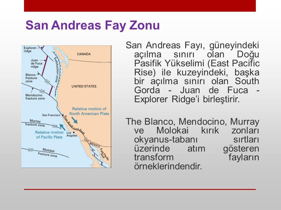 San Andreas Fay Zonu