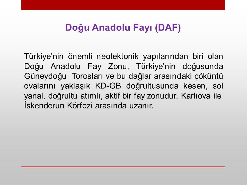 Doğu Anadolu Fayı (DAF)