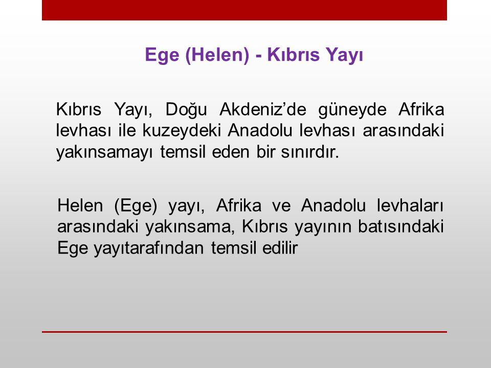 Ege (Helen) - Kıbrıs Yayı