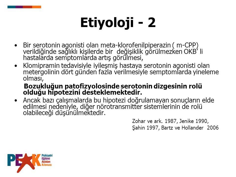 Etiyoloji - 2