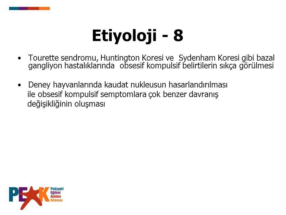 Etiyoloji - 8