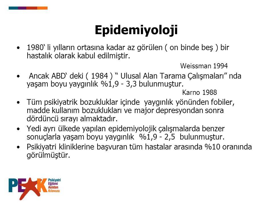 Epidemiyoloji 1980' li yılların ortasına kadar az görülen ( on binde beş ) bir hastalık olarak kabul edilmiştir.